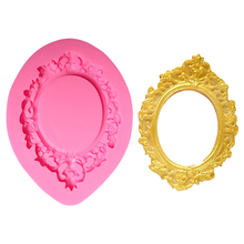 Frame silicone candy molds molde silicon jabon lollipop mold for soap making cake decoration EP061128