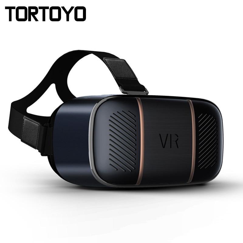 Inteligente todo en uno VR gafas 2 K FHD LCD 360 Panorama Realidad Virtual 3D gafas Gaming casco Octa- core 3 GB + 32 GB Bluetooth HDMI