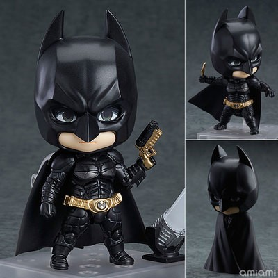 Domestically made 469 # Q version of clay BATMAN BATMAN the dark knight rise Hands-on doll model