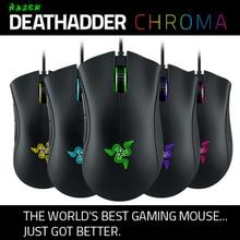Razer Deathadder Chroma, ratón gaming de 10000 DPI, Synapse 2,0, nuevo, envío gratis rápido,
