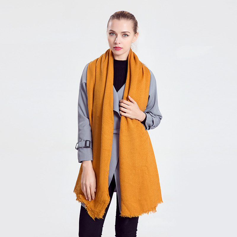Solid Couple Scarf Luxury Brand Cotton Winter Scarf Pashmina Women Ponchos and Capes Long Infinity Scarf Men Shawl Scarfs