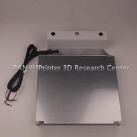 Ultimaker 2 + UM2 Расширенный 3d Принтер Комплект платформы с подогревом кровать стол стекло Алюминиевый Печатный стол Базовая платформа бесплатна