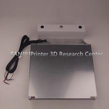 Ultimaker 2 + UM2 Extended 3D Платформа Принтер Комплект Подогревом Кровать Стол Стекло, Алюминий Печати Таблицы Базы Платформы Бесплатная Доставка!