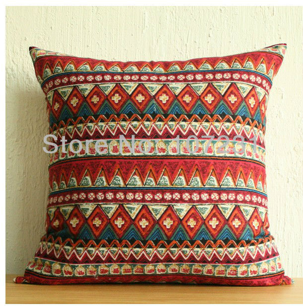 Pattern For A Throw Pillow Cover: Online Shop AztecTribal Tribe Pattern 18