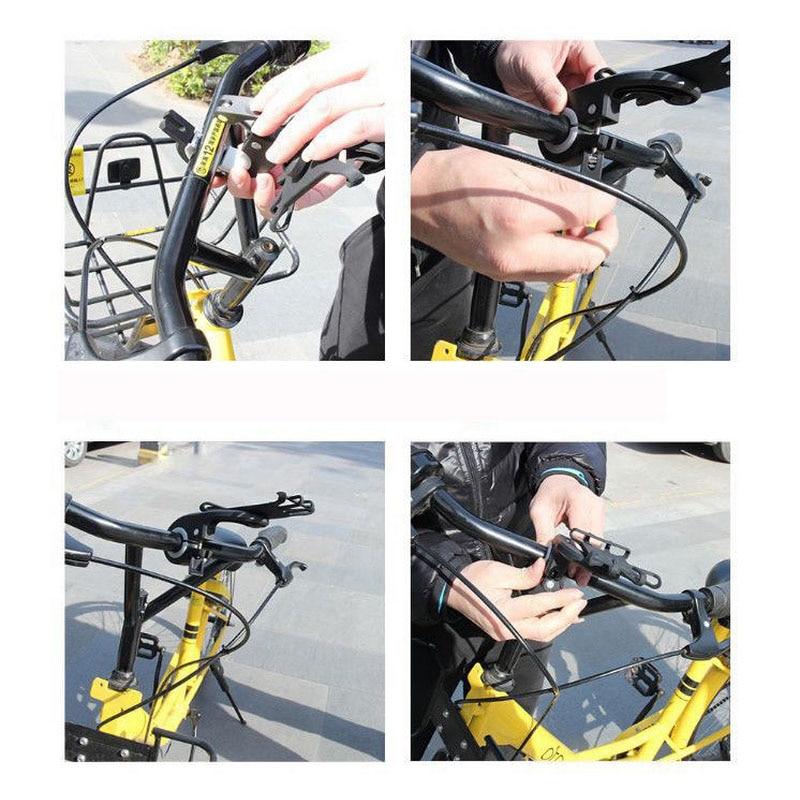 Universal Stroller blackbike phone holder Motorcycle Bicycle Bike MTB Handlebar Phone Holder Baby Car Stroller Mount Stand (1)