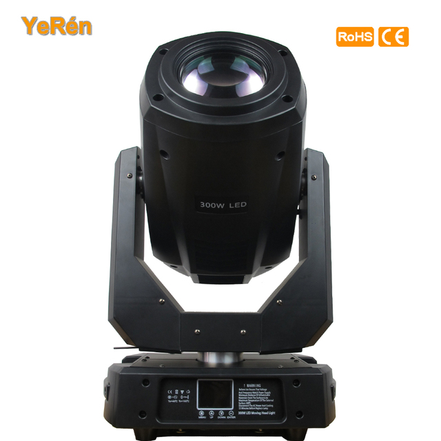 2 Pack 300W LED SPOT MOVING HEAD LIGHT with  flightcase