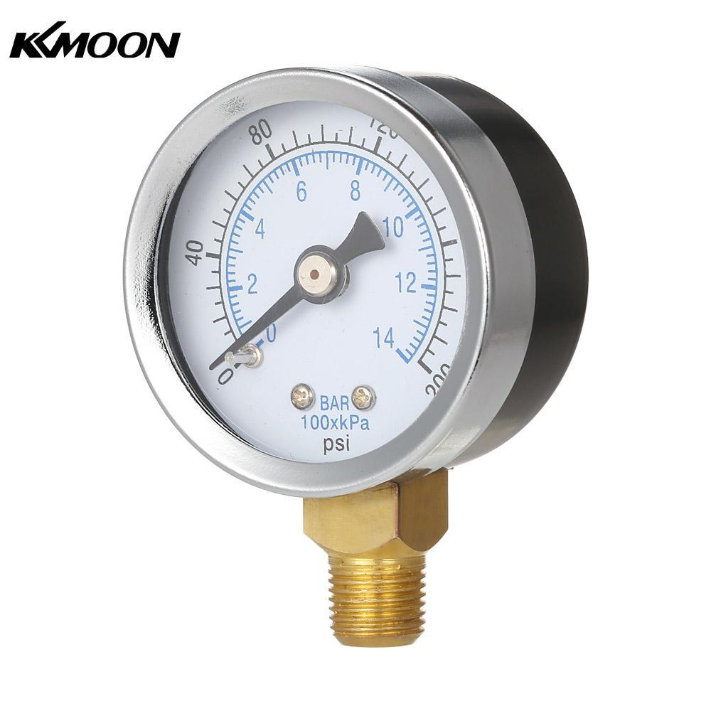 analog manometer. manometer pool filter water pressure manometre pression gauge meter 1/8\ analog