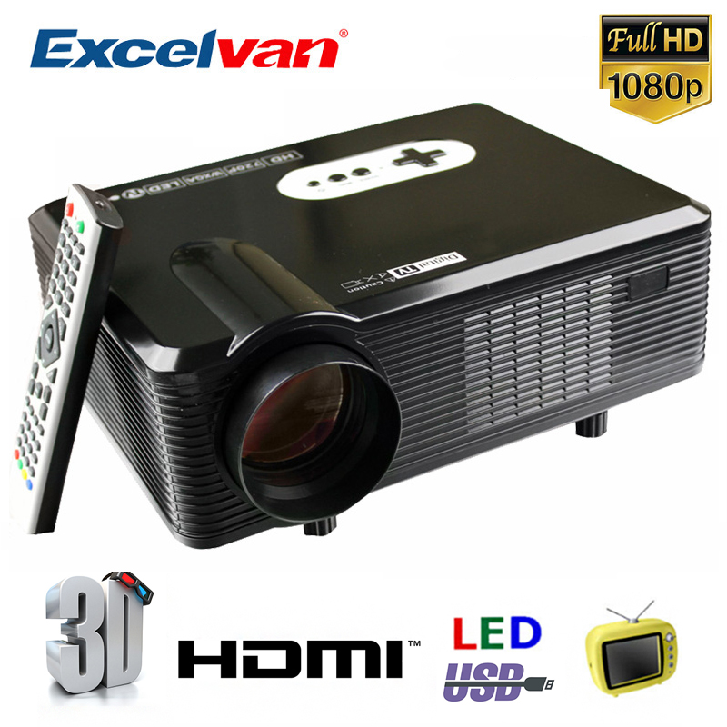 Cl720 3000 Lumens Hd Home Theater Multimedia Lcd Projector: Excelvan CL720 LED HD Projector 1280*800 3000 Lumen Home