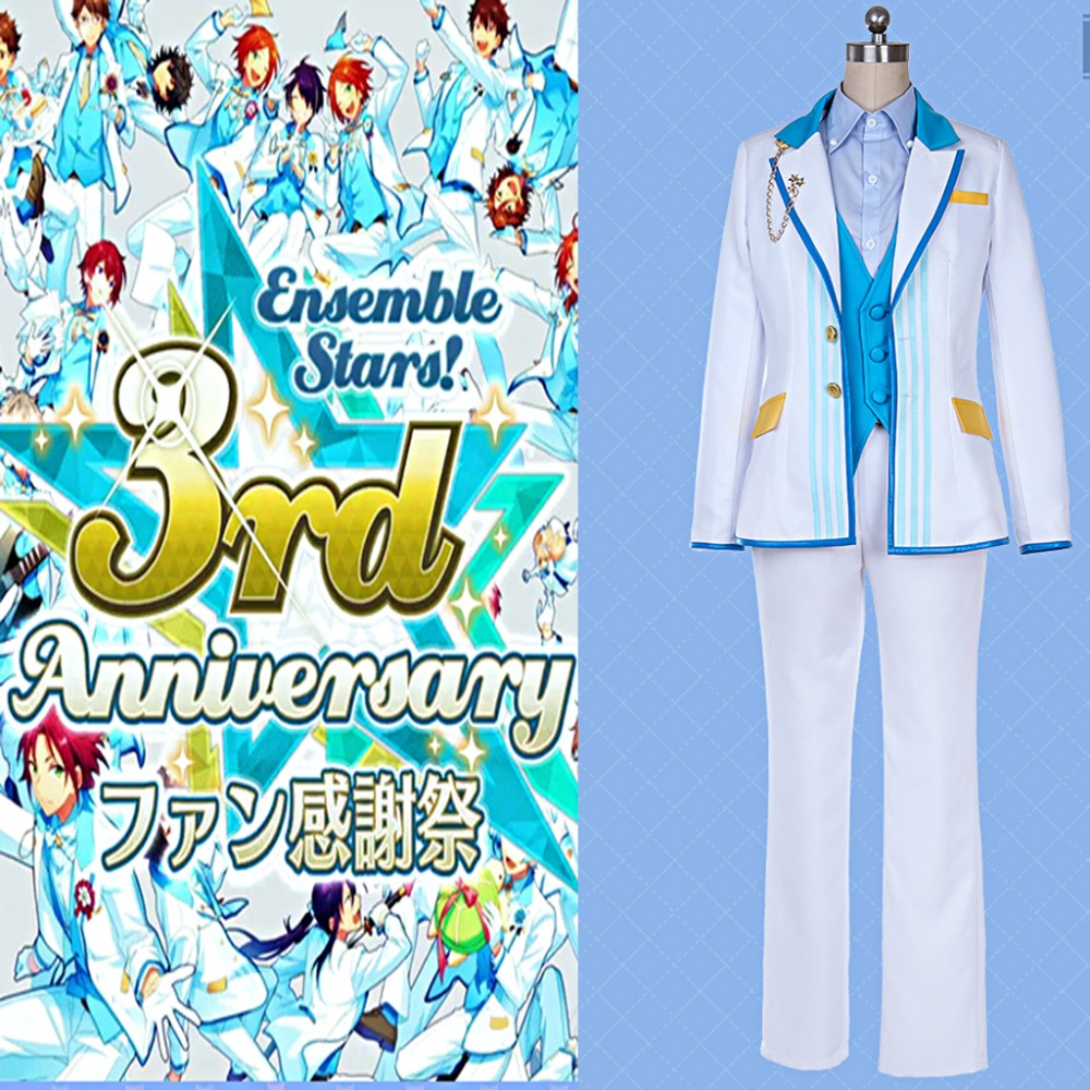 Cosplaydiy Custom Made Ensemble Stars 3rd Anniversary Cosplay Costume Adult ES Uniform Full Set Outfit Any Size L320