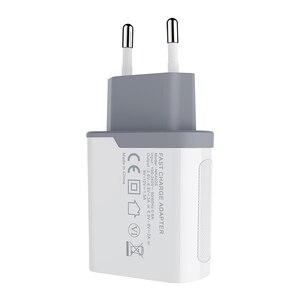 Image 1 - Nillkin 急速充電 3.0 電話 USB 充電器 3A 急速充電器 EU 旅行充電器 USB ウォール電話の充電器 iphone ため xiaomi