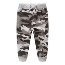 Jumping meters Boys Girls Camouflage Sweatpants Autumn Winter Children Clothes Fashion New Arrival 2019 Kids Trousers Boys Pants