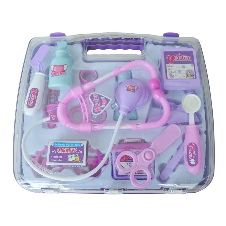 Доктор чемодан в Фиолетовый для Детей девочка детский День Рождения Подарок детский