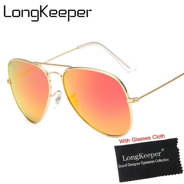 21efe49c21 LongKeeper 2018 New Fashion Brand Designer Sunglasses Men Women Retro Pilot  Sunglasses Polarized Driving Fishing Sun Glasses