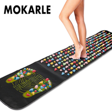 Professional Foot Massage Pad Durable Reflexology Toe Pressure Blood Circulation Plate Mat For Health Care Massager