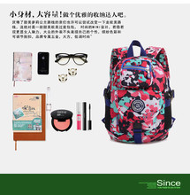Nylon shoulder bag lady leisure. European and American fashion models. Japanese Korean style. Girlsschoolbags. Birthday