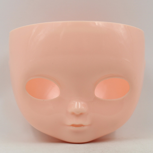 Icy doll face faceplate, No makeup or makeup, only for icy doll