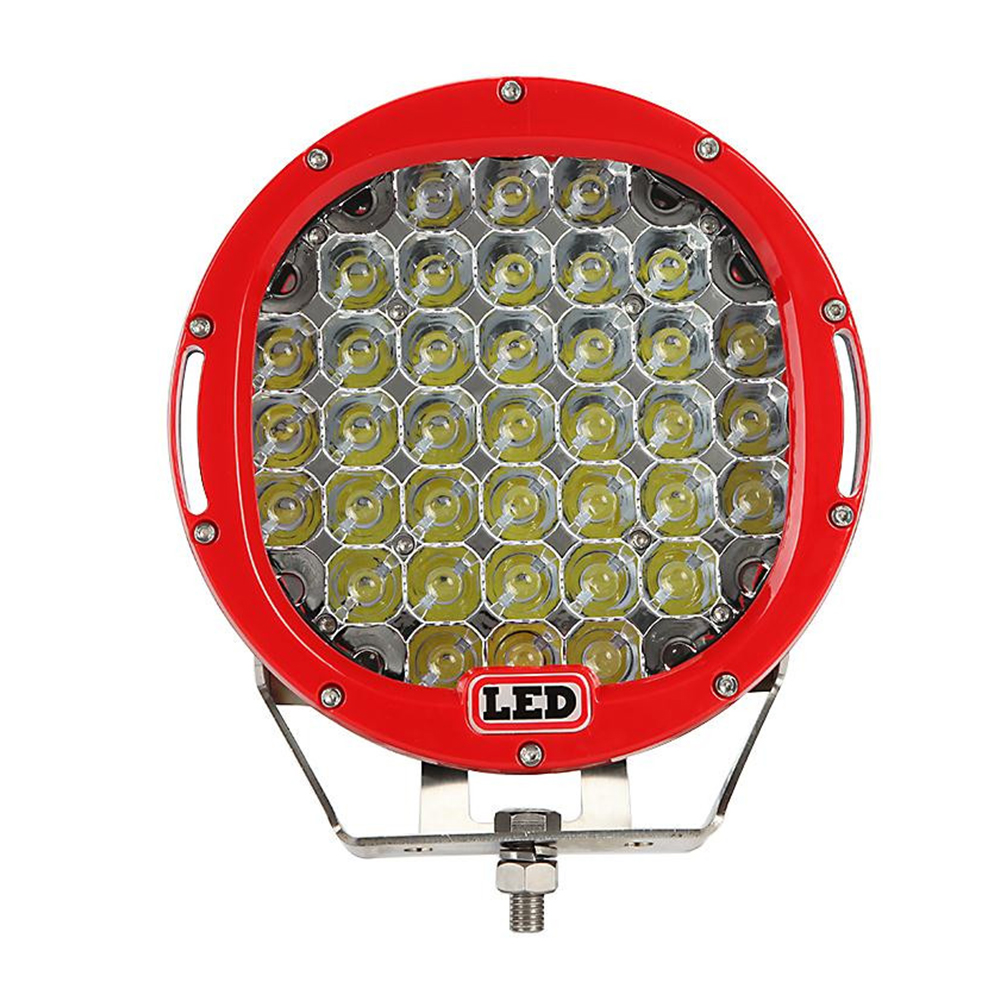 185W 9inch 15725LM LED Work Light Round 12V LED OFFROAD LIGHT FOR SUV ATV 4WD by Spot beam Red led driving lights good price 7inch 45w led cannon lights round spot driving spotlight work lamp with focused beam for suv 4wd off road truck suv atv offroad