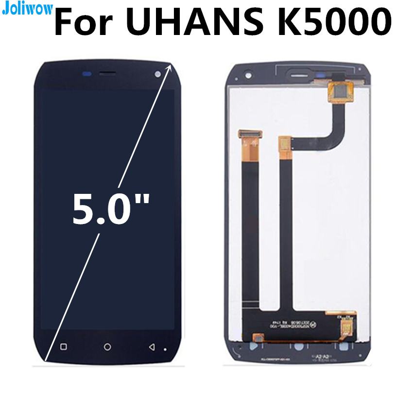 For UHANS K5000 LCD Display Touch Screen Digitizer Assembly Replacement Accessories