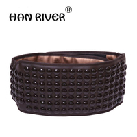 Electric Heating Germanium Stone Belt Belt Ms Tomalin Fever Waist Support Warm Stomach To Ease The