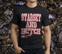 цена на Fashion T Shirt Hipster Cool Tops Starsky And Hutch Classic Men'S Black Crew Neck Men Short Sleeve Tall T Shirt