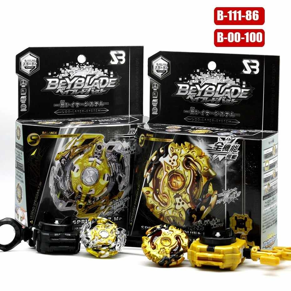 Original Product New Beyblade Burst Excalibur bey blade Beyblade B135 B140 B133 B134 B131 With Launcher And Box Gifts For Kids