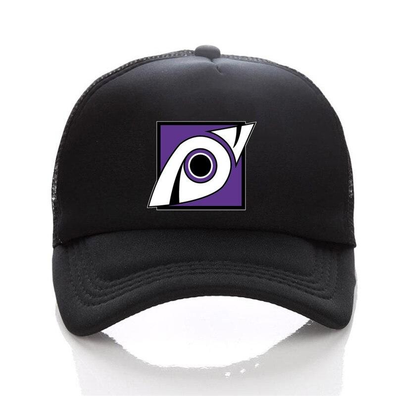 black trucker hat 09