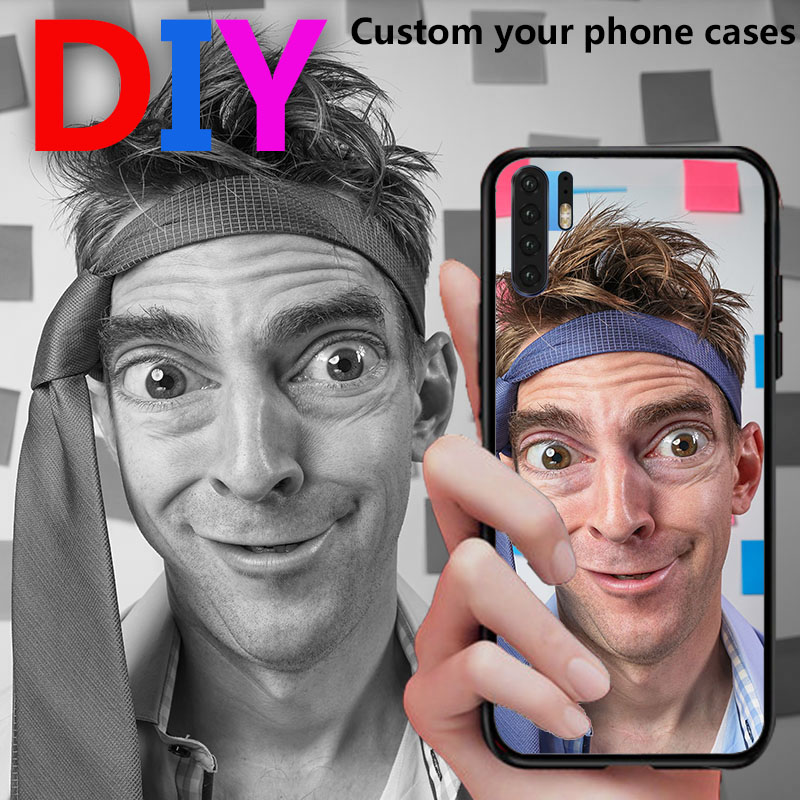 DIY Custom Photo Name Logo Phone Case For Asus Zenfone Max Pro M1 ZB601KL Customized Cover For ASUS Zenfone Max Plus M1 ZB570TL