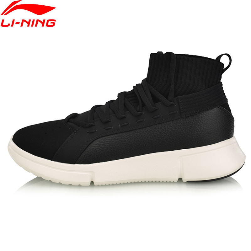 Li Ning Men ESSENCE 2 0 WS WARM Basketball Leisure Shoes Wearable Mono Yarn LiNing Comfort