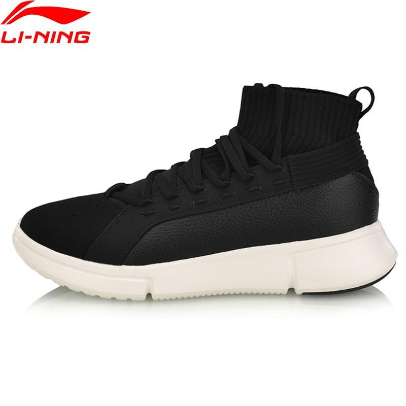 Li Ning Men ESSENCE 2 0 WS WARM Basketball Leisure Shoes Wearable Mono Yarn LiNing Comfort