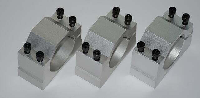 spindle fixture Mount Bracket New spindle motor holder holder 57/58/60/62/64/65/66mm aluminum profile carving machine fixed seat