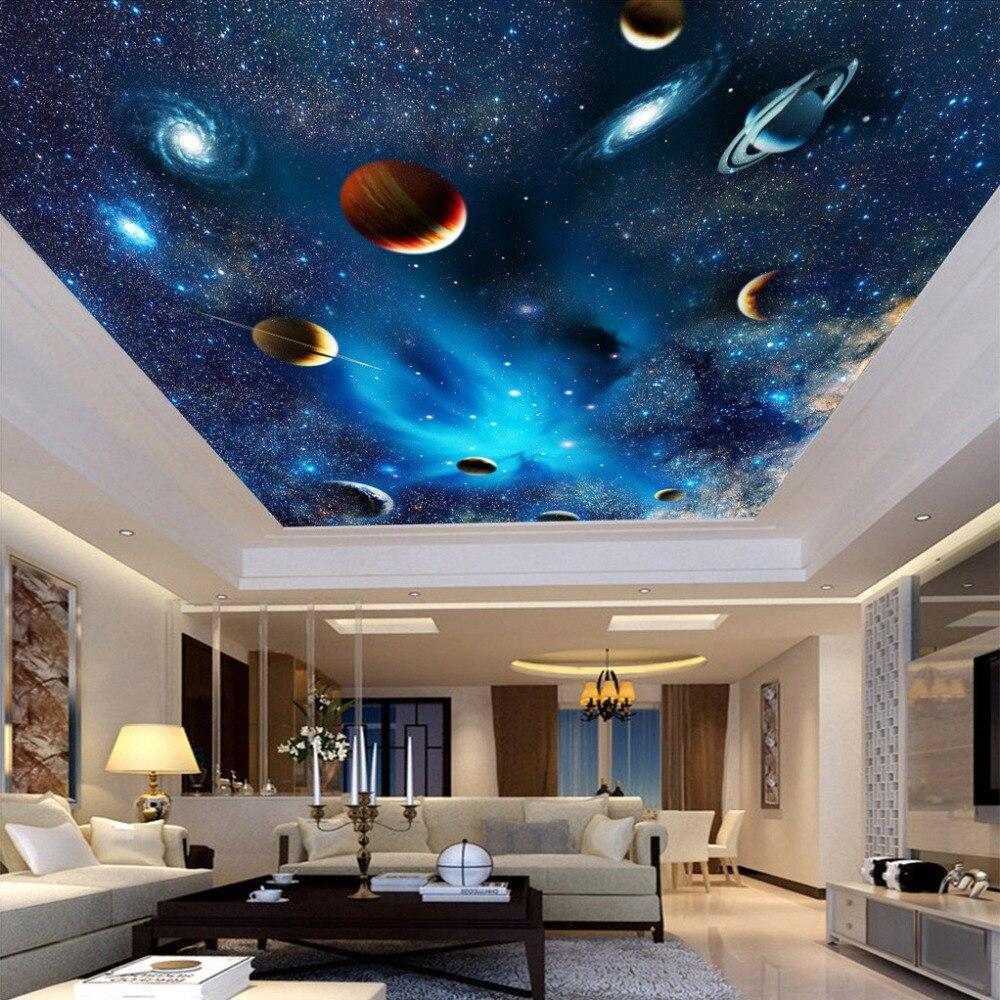 カスタム任意のサイズ 3d 壁壁画壁紙リビングルームの寝室の天井壁紙壁