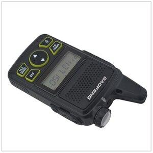 Image 4 - 1pcs x baofeng Mini Walkie Talkie BF T1 UHF 400 470MHz 1W 20CH Small Mini Portable Ham FM Two way Radio With Earpiece