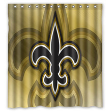 66x72 New Orleans Saints Shower Curtain 72x72 Inch Dragon Ball Z Bleach Fairy Tail Naruto Together In Curtains From Home Garden On