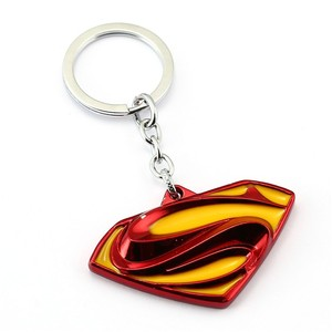 Top High Quality Superman Keyring Three-color S Logo Keychain  Holder For Gift Chaveiro Ornament — bequmcmvl