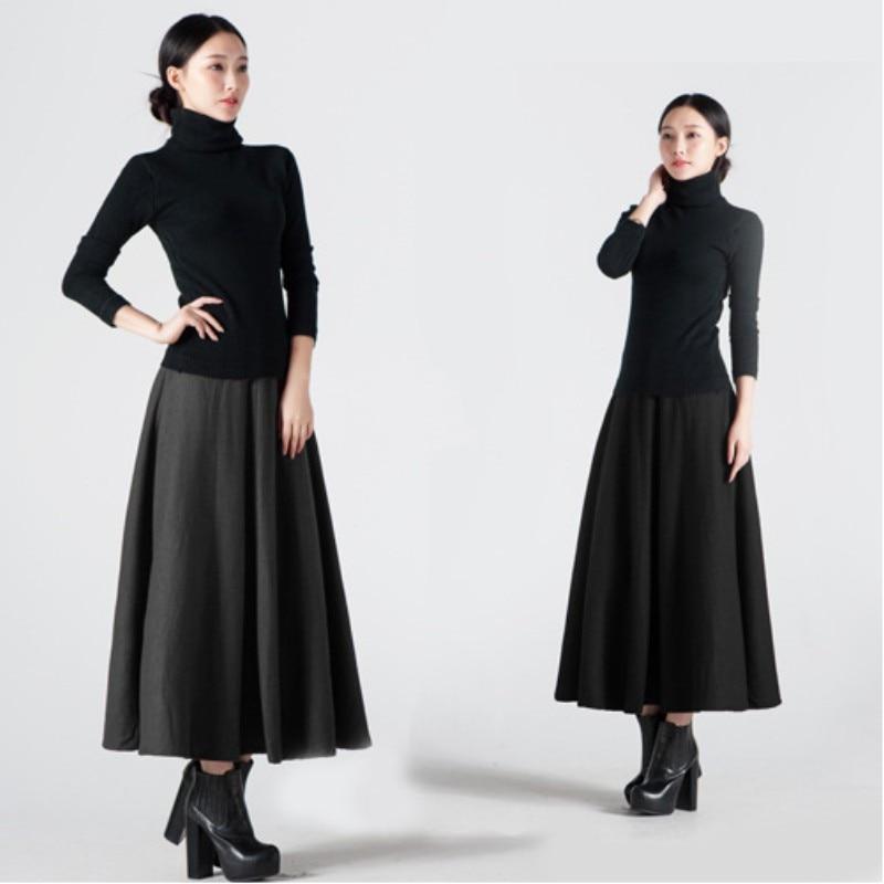 Online Get Cheap Ankle Length Wool Skirt -Aliexpress.com | Alibaba ...