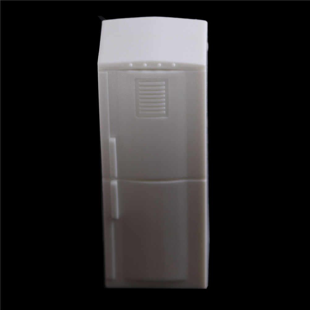 2 двери холодильника холодильник морозильник Кухня мебель Дети Притворись Play игрушки белый 1/12 кукольная миниатюра
