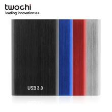 TWOCHI Metal Portable HDD 2 5 80GB 120GB 160GB 250GB 320GB 500GB Storage External Hard Drive