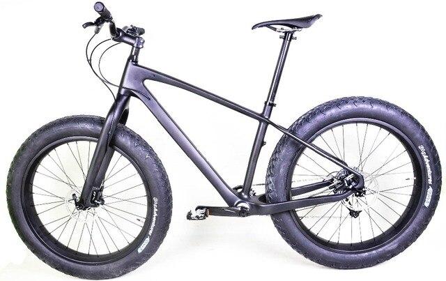 2016 nieuwste 100% full carbon vet bikes, volledige vet fietsen met 80mm breedte wielen en alle fietsonderdelen in UD mat