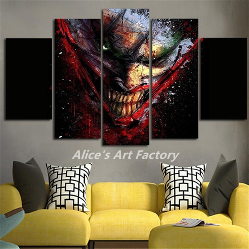 Popular Joker Canvas Painting Buy Cheap Joker Canvas
