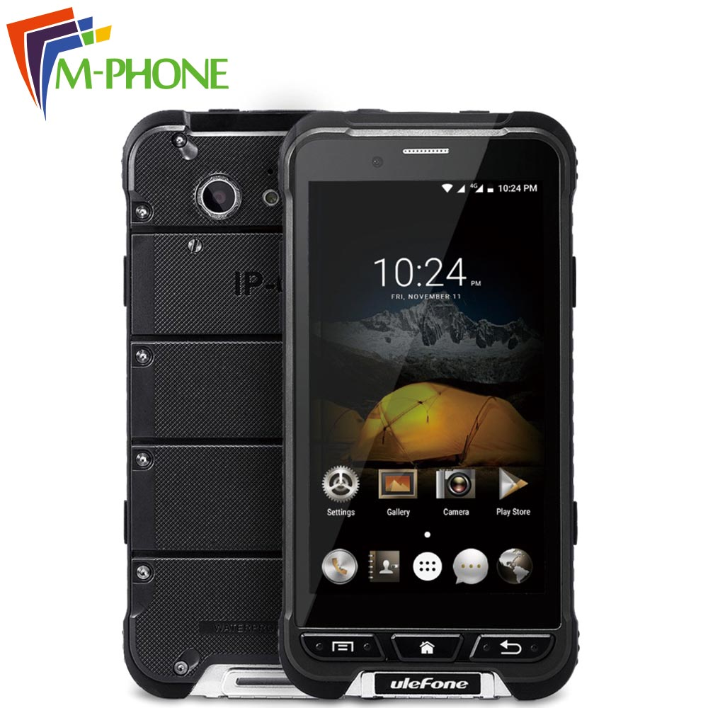 Ulefone Armor Mobile Phone 4 7 IP68 Waterproof Android 6 0 Mobile Phone MTK6753 Octa Core