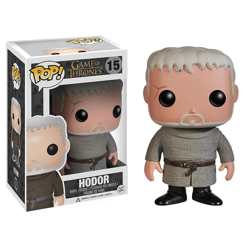 FUNKO POP Game Of Thrones Hodor PVC Action Figure Collectible Model Kids Toys For Chlidren Christmas Gifts