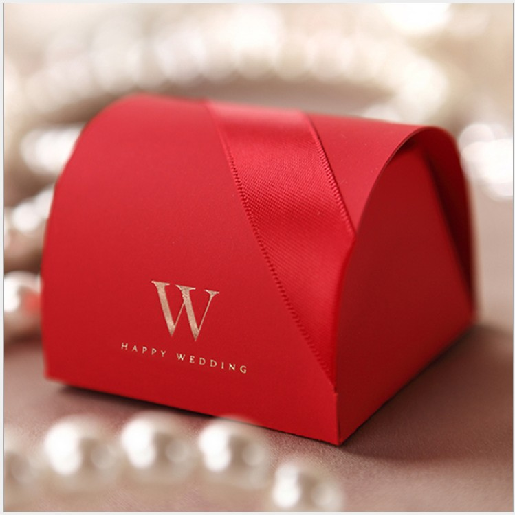 Free Shipping 100pcs lot Wedding favor party Hot stamping paper favors packaging gifts candy boxes for