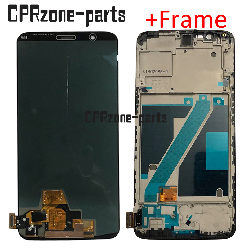 6.01 New OLED lcd with frame For OnePlus 5T A5010 LCD display touch screen digitizer assembly free shipping6.01 New OLED lcd with frame For OnePlus 5T A5010 LCD display touch screen digitizer assembly free shipping