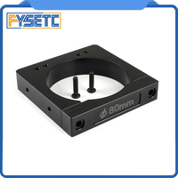 3D Printer Parts Aluminum Alloy CNC Router/Spindle Mount Diameter 80mm For Makita RT 0700C Workbee OX CNC Router Machine