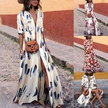 ZOGAA 2019 Striped Summer Dress Women Casual Elegant Boho Maxi Long Big Size Dresses Beach Sexy Sundress 9 Colors
