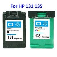 For HP 131 135 Cartouche Dencre For HP Deskjet 460 5743 5940 5943 6843 6940 Photosmart