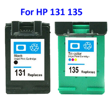 Для HP 131 135 картуш dencre для HP Deskjet 460 5743 5940 5943 6843 6940 2573 2613 8753 ШТ 1600 1613 2350 2355