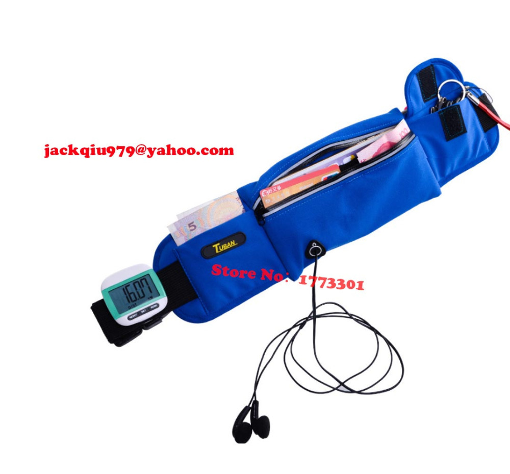 competitive price 37f3c 278e9 US $8.98  free shipping ! Tuban waist bag , Running headphone jack mobile  phone accessories blue waist package , sport waterproof bag-in Running Bags  ...