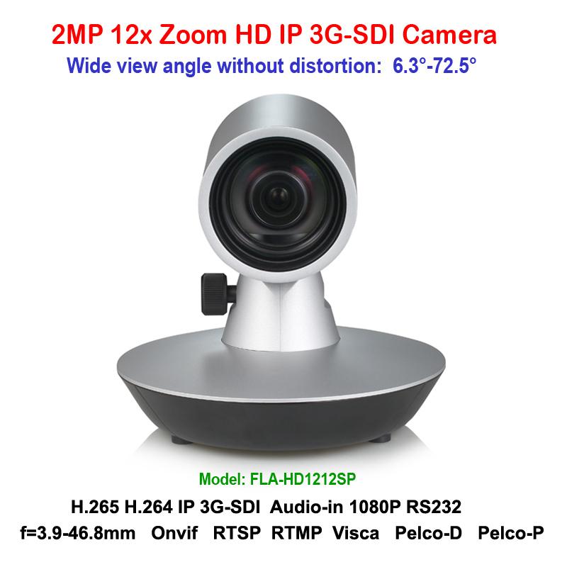 1080p60 IP 3G-SDI Video Conference POE Camera Full HD 12x Optical Zoom Plug Play 72.5 degree wide angle view 2mp hdmi full hd broadcast 12x zoom ptz video conference camera audio with ip usb2 0 usb3 0 interface