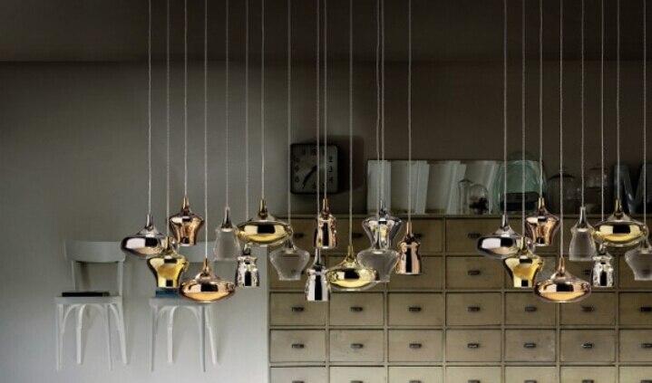 Nostalgia Cluster 14 Lights  Dima Loginoff Studio Italia Design led  Pendant Light